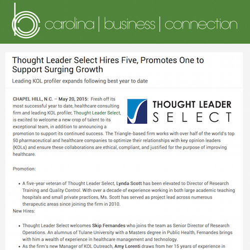 Thought Leader: Thought Leader Select